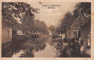 Ansichtkaart Broek in Waterland Het Dee 1921 HC15847
