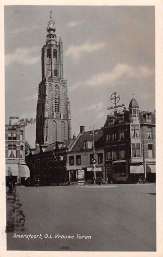 Ansichtkaart Amersfoort O.L. Vrouwe Toren 1952 HC15861