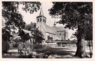 Ansichtkaart Breda Ginneken Kerk 1951 HC15880