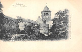 Ansichtkaart Duitsland Lübeck Partie am Burgthor 1901 Deutschland Europa HC15896