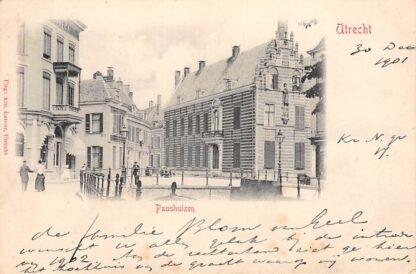 Ansichtkaart Utrecht 1901 Paushuizen Kleinrondstempel Maasland 1901 HC15916