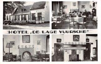 Ansichtkaart Lage Vuursche Hotel De Lage Vuursche 1963 HC15924