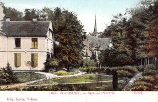 Ansichtkaart Lage Vuursche Kerk en Pastorie HC15926