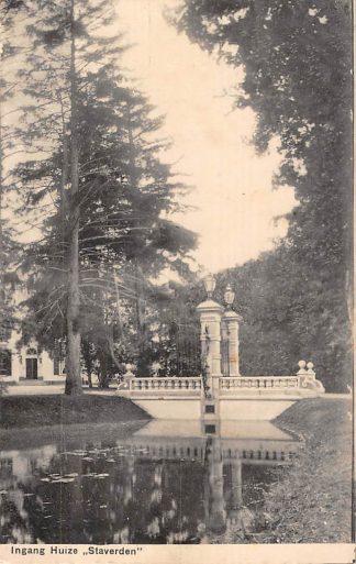 Ansichtkaart Ermelo Elspeet Ingang Huize Staverden 1910 Veluwe HC15931