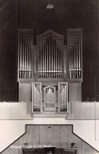 Ansichtkaart Rilland Orgel Ned. Hervormde Kerk 1959 HC15937