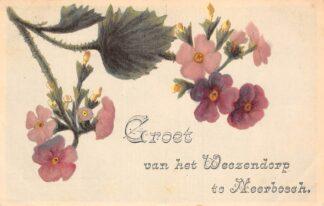 Ansichtkaart Neerbosch Groet van het Weezendorp Nijmegen HC15941