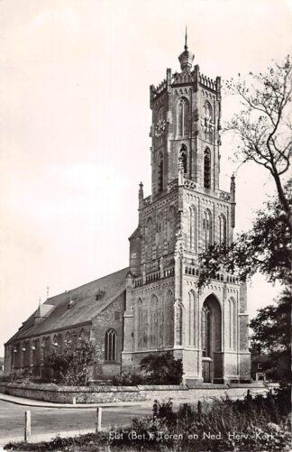 Ansichtkaart Elst (GD) Toren en Ned. Herv. Kerk Betuwe HC15975