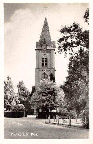 Ansichtkaart Ruurlo R.K. Kerk 1956 HC15980
