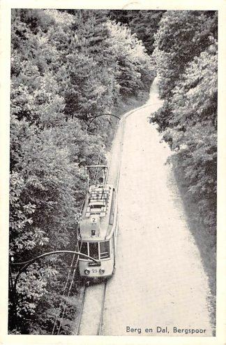 Ansichtkaart Berg en Dal Bergspoor Tram 1956 Nijmegen HC15989