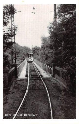 Ansichtkaart Berg en Dal Bergspoor tram Nijmegen HC15990