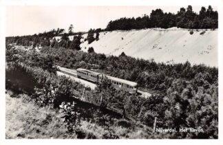 Ansichtkaart Nijverdal Het Ravijn met trein Spoorwegen 1957 HC15996