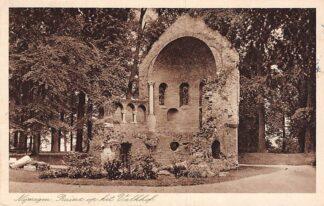Ansichtkaart Nijmegen Ruine op het Valkhof 1939 HC16007