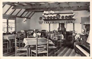 Ansichtkaart Zeddam Hotel Het Montferland Interieur Oud-Hollandse eetkamer 1955 HC16010
