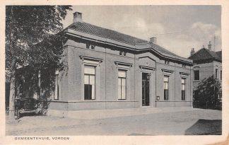 Ansichtkaart Vorden Gemeentehuis HC16044