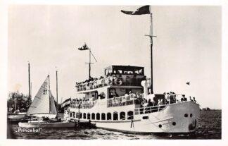 Ansichtkaart Sint Annaparochie Rondvaart Princehof 1956 Scheepvaart Schepen HC16080