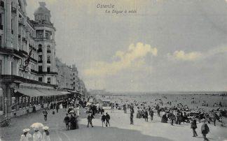 Ansichtkaart Belgie Oostende Ostende La Digne a midi 1910 Kleinrondstempel Europa HC16085