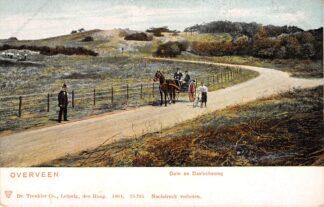 Ansichtkaart Overveen Duin en Daalscheweg 1904 Paard en wagen HC16096