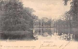 Ansichtkaart Alkmaar Gerechtsgebouw 1906 HC16110