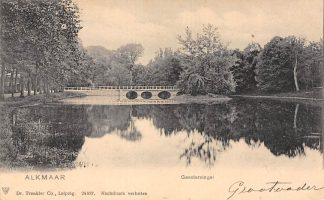 Ansichtkaart Alkmaar Geestersingel 1906 HC16112