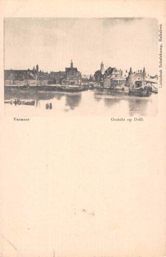 Ansichtkaart Delft Gezicht op Delft Vermeer HC16137