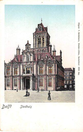 Ansichtkaart Delft Stadhuis HC16144