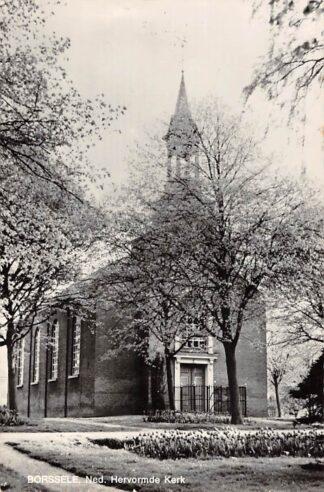 Ansichtkaart Borssele Ned. Hervormde Kerk 1968 HC16146