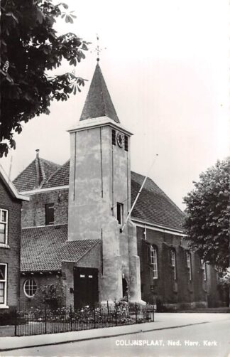 Ansichtkaart Colijnsplaat Ned. Hervormde Kerk 1967 HC16148