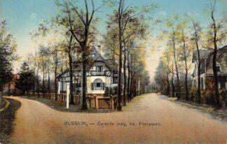 Ansichtkaart Bussum Zwarteweg hoek Floralaan HC16151