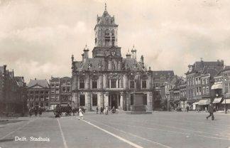 Ansichtkaart Delft Markt met Stadhuis HC16155