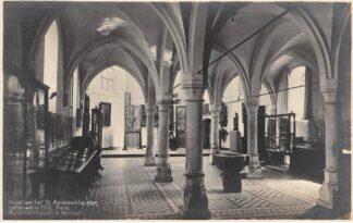 Ansichtkaart Utrecht Kapel van het St. Agnietenklooster thans Aaartsbisschoppelijk Museum Fotokaart HC16156