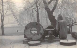 Ansichtkaart Wormerveer in de winter Foto HC16160