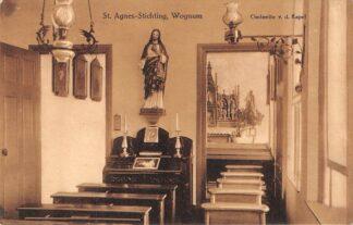 Ansichtkaart Wognum St. Agnes-Stichting Gedeelte v.d. Kapel 1913 Medemblik HC16161