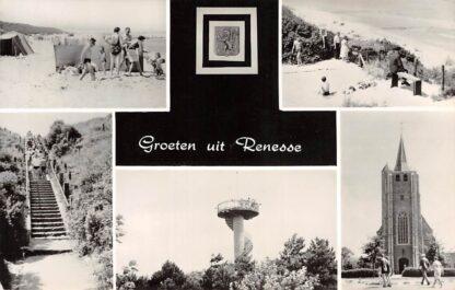 Ansichtkaart Renesse Groeten uit HC16165