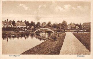 Ansichtkaart Bussum Bilderdijkpark 1929 HC16172