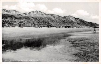 Ansichtkaart Westenschouwen Duin en strand 1936 Burgh Schouwen-Duiveland HC16174