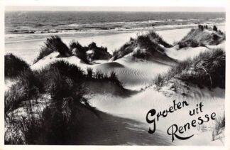 Ansichtkaart Renesse Groeten uit 1967 Duin, strand en zee HC16175
