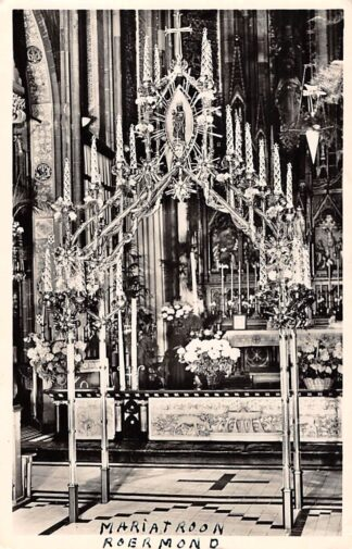 Ansichtkaart Roermond Kapel van O.L. Vrouw in 't Zand Mariatroon 1954 HC16204