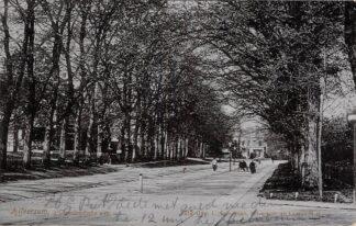 Ansichtkaart Hilversum 's-Gravelandsche weg 1905 HC16218