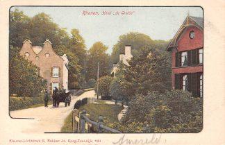 Ansichtkaart Rhenen Hotel de Grebbe met paard en wagen HC16262