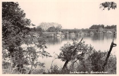 Ansichtkaart Lekkerkerk Eendenkooi 1951 HC16270