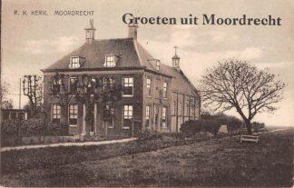 Ansichtkaart Moordrecht Groeten uit Moordrecht R.K. kerk HC16272