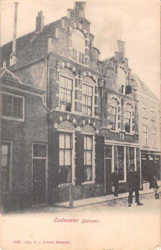 Ansichtkaart Oudewater IJselveere voor 1906 HC16278