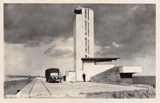 Ansichtkaart Wieringen Den Oever Gedenkteeken Alsuitdijk Holland - Friesland IJsselmeer Auto 1948 HC16280