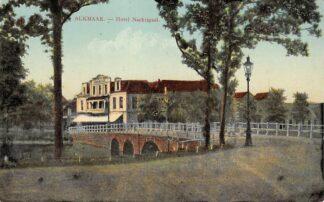 Ansichtkaart Alkmaar Hotel Nachtigaal 1912 HC16287