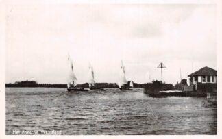 Ansichtkaart Drachten Het Friesche waterland 1956 HC16295
