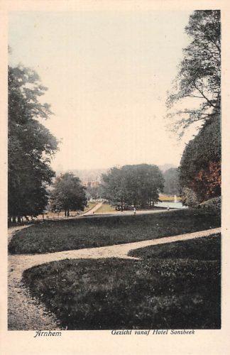 Ansichtkaart Arnhem Gezicht vanaf Hotel Sonsbeek HC16311