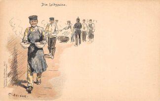 Ansichtkaart Duitsland Militair Die Lebenspeise Soldaten-Postkarten Art. 5 Humor Illustrator C. Becker Deutschland Europa HC16332