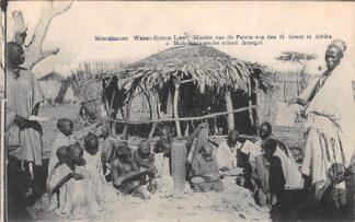 Ansichtkaart Weert Donck Lier Missiehuizen 2. Mohammedaansche school Senegal Missien van de Paters van den H. Geest in Afrika Belgie Europa HC16418