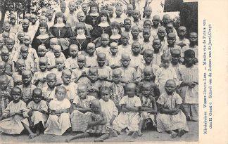 Ansichtkaart Weert Donck Lier Missiehuizen 6. School van de Zusters van St. Jozef Congo Missien van de paters van den H. Geest Afrika Belgie Europa HC16422