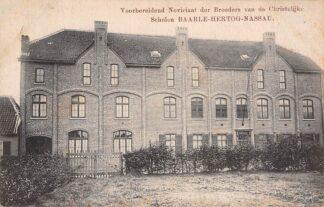 Ansichtkaart Baarle Nassau Hertog Voorbereidend Noviciaat der Broeders van de Christelijke Scholen Belgie Europa HC16452